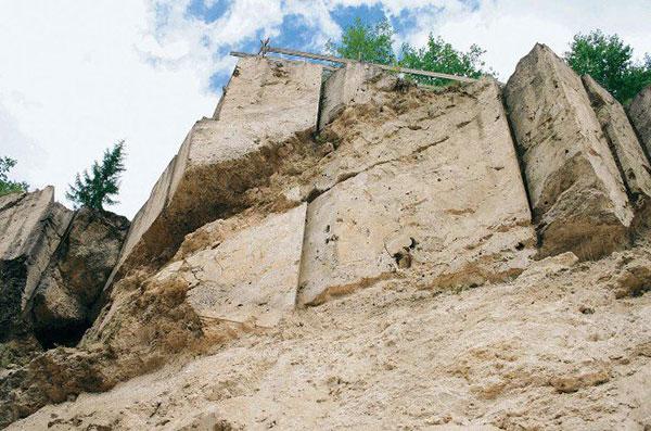 quarry jezersko