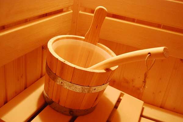 weiss sauna