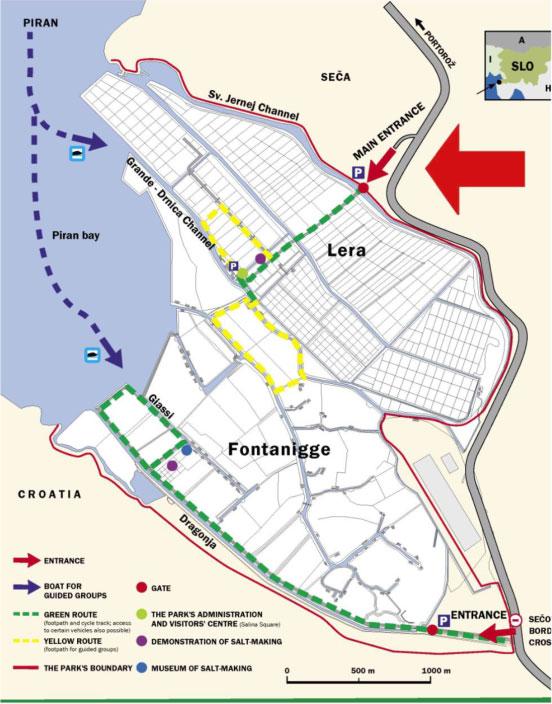 salina map