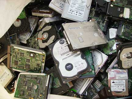 electronic waste collection